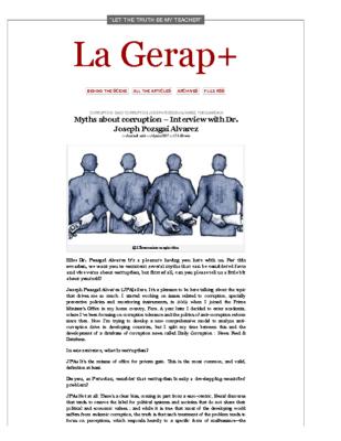 Interview by La Gerap+ (16 June 2017)
